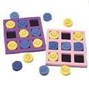 US TOY 7201 Smiley Face Tic-Tac-Toe Games