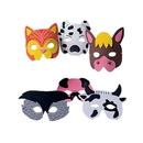 U.S. Toy 7346 Farm Animal Foam Masks