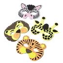 U.S. Toy 7347 Wild Zoo Animal Foam Masks