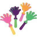 U.S. Toy 7465 Hand Clappers / 4 in.