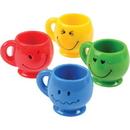 U.S. Toy 7757 Mini Smiley Face Mugs