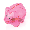 U.S. Toy BB80 Translucent Piggy Savings Banks