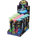 U.S. Toy CA473 Flashing UFO Top with Candy / 12-pc