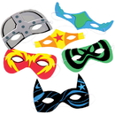 U.S. Toy CM56 Foam Superhero Masks
