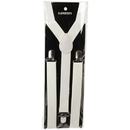 U.S. Toy CM63-11 Adult Suspenders / White