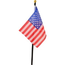 U.S. Toy D28 USA Flags - 4x6 Cloth