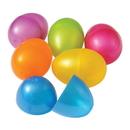 US TOY ED8 Plastic Eggs - 3 1/8 Inch - 6 Pieces