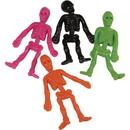 U.S. Toy FA1000 Sticky Skeletons / 8-pc