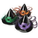 U.S. Toy FA904 Witch's Hat with Colored Hair
