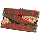 U.S. Toy FA947 Beware of Zombies Sign