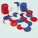 U.S. Toy GA30-07 Blue Poker Chips / 100-Bg