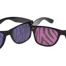 U.S. Toy GL32 Neon Zebra Print Glasses