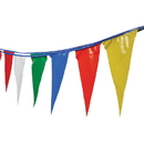 US TOY GS15 Multicolor Pennant Flag Strands