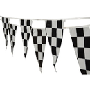US TOY GS3 Checkered Pennant Flag Strands