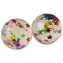 U.S. Toy GS498 Glitter Star Bouncy Balls
