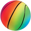 U.S. Toy GS828 Rainbow Basketballs / 5 inch