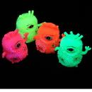 U.S. Toy GS833 Flashing Tri Eye Monster Puffers / 6-pc