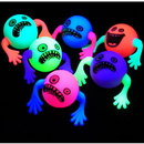 U.S. Toy GS834 Flashing Silly Faces / 6-pc