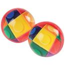 U.S. Toy GS840 Block Mania Bounce Balls / 32mm