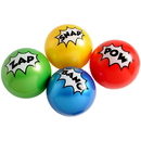 U.S. Toy GS844 Superhero PVC Balls / 4 inch