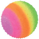 U.S. Toy GS860 Rainbow Knobby Ball / 10 inch