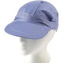 U.S. Toy H110 Striped Train Engineer Hat