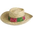 U.S. Toy H134 Straw Gambler Hat