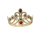 U.S. Toy H179 Plastic Queen Crown with Jewels