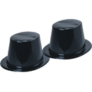 U.S. Toy H205 Black Top Hats