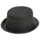 U.S. Toy H236 Black Felt Top hat