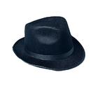 U.S. Toy H246 Black Felt Fedora Hat