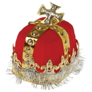 U.S. Toy H251 Royal Red King's Crown