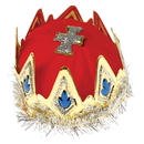 U.S. Toy H252 Royal Red Queen's Crown
