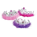 U.S. Toy H292 Feather Boa Princess Tiaras