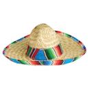 U.S. Toy H351 Child Sombrero with Serape Trim
