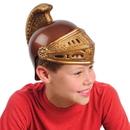 U.S. Toy H370 Gold Plastic Roman Helmets