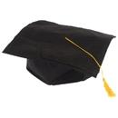 U.S. Toy H42 Black Economy Graduation Caps