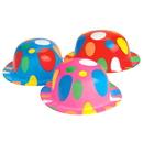 U.S. Toy H438 Polka Dot Derby Bowler Hats