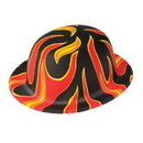 U.S. Toy H512 Flame Derby Bowler Hats