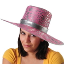 U.S. Toy H523 Metallic Pink Big Mama Hat