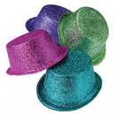 U.S. Toy H525 Glitter Top Hats