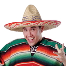 U.S. Toy H57 Adult Size Authentic Mexican Sombrero