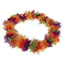 US TOY HL181 Hawaiian Deluxe Flower Leis Rainbow