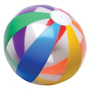 U.S. Toy IN399 Clear Rainbow Ball Inflates