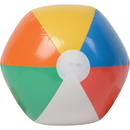 U.S. Toy IN6 12 in. Inflatable Beach Balls