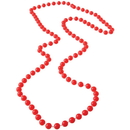 US TOY JA421 Red 6mm Bead Necklaces
