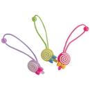 U.S. Toy JA820 Lollipop Hair Ties / 6-pc