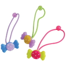 U.S. Toy JA821 Wrapped Candy Hair Ties / 6-pc
