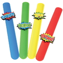 U.S. Toy JA830 Superhero Slap Bracelets