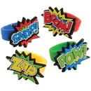 U.S. Toy JA831 Superhero Rubber Rings